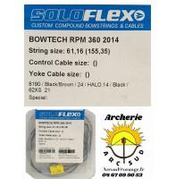 Flex archery corde bowtech rpm 360
