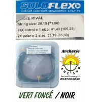 Flex archery set cordages prime rival
