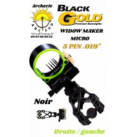 Black gold viseur chasse widow marker micro