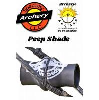 Spécialty archery peep shade