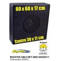 Booster cible mft midi 60 x 60 x 17 cm