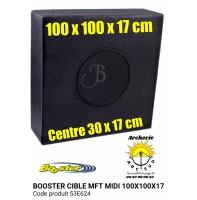 Booster cible mft midi 100 x 100 x 17 cm