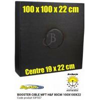 Booster cible mft hf 100 x 100 x 22 cm
