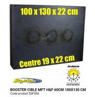 Booster cible mft hf 100 x 130 x 22 cm