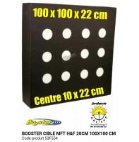 Booster cible mft hf 100 x 100 x 22 cm trispot