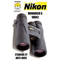 Nikon jumelle monarch 5 10x42