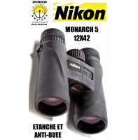 Nikon jumelle monarch 5 12x42