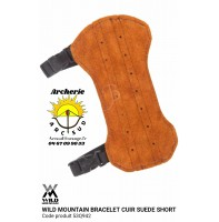Wild mountain protège bras cuir suede short