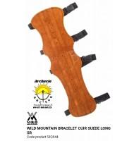 Wild mountain protège bras cuir suede long sr