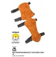 Wild mountain protège bras cuir suede long jr