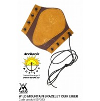 Wild mountain protège bras cuir eiger