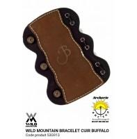 Wild mountain protège bras cuir Buffalo