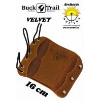 Buck trail protège bras cuir velvet