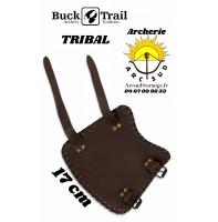 Buck trail protège bras cuir tribal