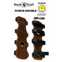 Buck trail protège bras cuir nubuk double