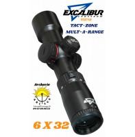 Excalibur lunette arbalète tact zone