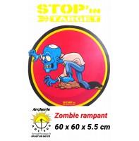 stop in target Cible 2D zombie rampant