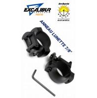 Excalibur anneau lunette arbalète 7/8