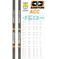 Easton tube carbon alu acc