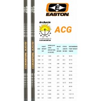 easton tube carbon acg (par 12)