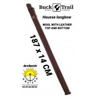 Buck trail housse longbow wool with leather