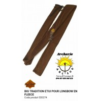 Big tradition housse longbow flanelle 53d274