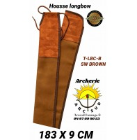 Neet housse longbow t-lbc-b marron