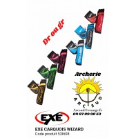 Exe carquois wizard 3 tubes 53l608