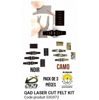 Qad kit de remplacement protection autocollant