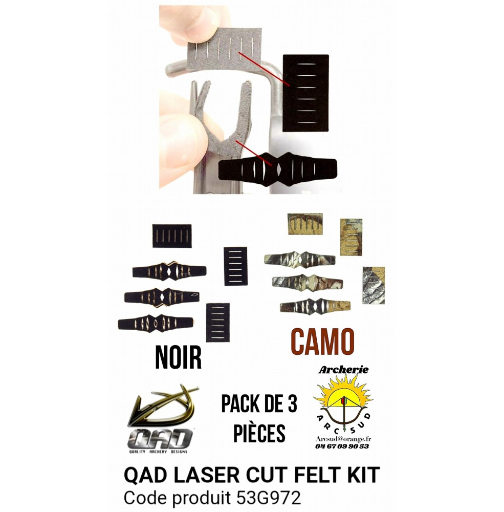 Qad kit de remplacement protection autocollant