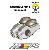 Arc système adapteur lame repose flèches mono rest ref c2.313