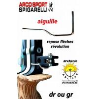 Spigarelli aiguille repose flèches révolution