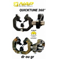 Nap repose flèches chasse quichtune 360 °