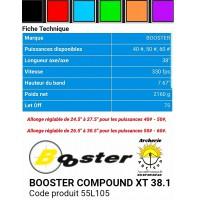 Booster arc à poulie xt 38.1   ref 55L105