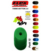 Flex archery turbo button 2.0 ( pack 12 )