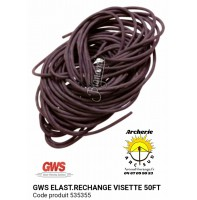 gws élastique rechange visette 50 ft 535355