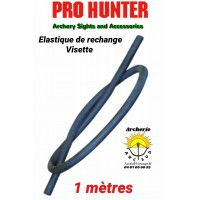 Pro hunter élastique rechange visette 1 mètres