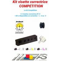 Arc système kit visette correctrice compétition ref c2.430
