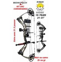 Bowtech package arc à poulie convergence 2019