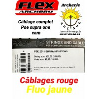 Flex archery set cordagespse supra one cam