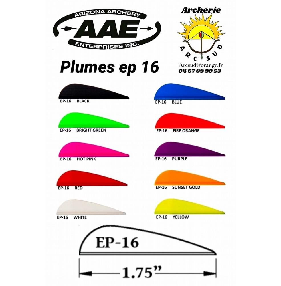 aae plumes plastique ep 16