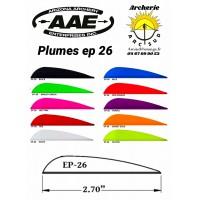 aae plumes plastique ep 26