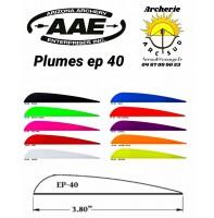 aae plumes plastique ep 40