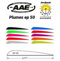 aae plumes plastique ep 50