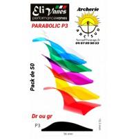 Elivanes plumes plastique parabolique p3