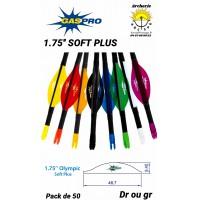 "Gas pro plumes plastique 1.75"" solf plus"