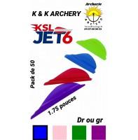 kk plumes plastique ksl jet6