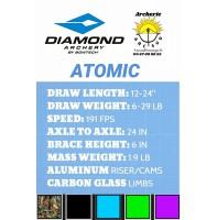 Diamond package arc à poulie atomic