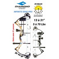 Diamond kit arc à poulie Infinite edge pro