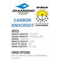 Diamond package arc à poulie carbon knockout